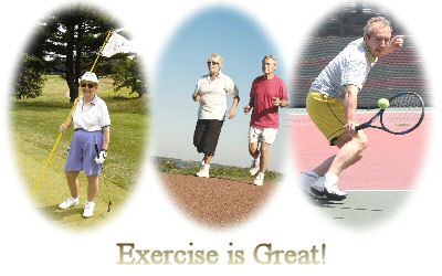 an exercise program can contribute to your health